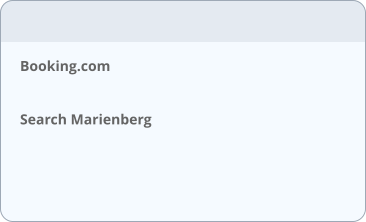 Booking.com  Search Marienberg